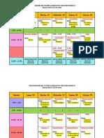 1 Cronograma clases a distancia 2do Básico