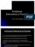 Estructura y Funcion de Proteinas