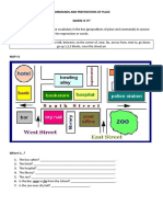 COMMANDS AND PREPOSITIONS OF PLACE