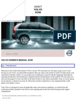VOLVO XC90 2007 User Manual
