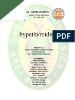 HYPOTHYROIDISM-CasePres