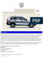 VOLVO XC90 2006 User Manual