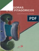 Pitágoras e os pitagóricos - JEAN FRANÇOIS MATTÉI