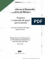 La Educación en el Desarrollo Histórico de México