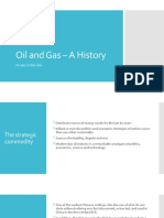 0 Oil and Gas- A History