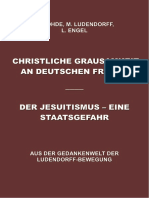 Löhde, Ludendorff, Engel - 1. Christliche Grausamkeit an Deutschen Frauen, 2. Der Jesuitismus eine Staatsgefahr,