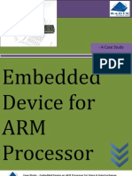Embedded Device on ARM Processor for Voice & Data Exchange