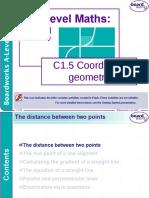 c1-5 Coordinate Geometry