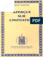 Apercus sur l'initiation - Rene Guenon [1946]