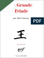La Grande Triade - Rene Guenon [1946]