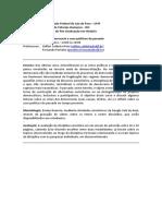 PPGH-UFJF - Crises da democracia e usos políticos do passado