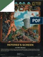 Gamma World GM Screen
