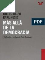 Dauve, Gilles & Nesic, Karl - Mas Alla de La Democracia [57277] (r1.1)