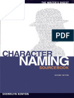 Sherrilyn Kenyon - The Writer's Digest Character Naming Sourcebook (2nd Edition) (2005, Writers Digest Books) - Libgen.lc