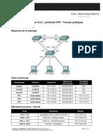 Exercice Packet Tracer _ Protocole STP - Travaux Pratiques Avancés