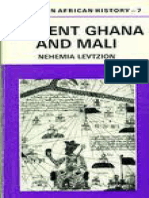 LEVTIZION, N. Ancient Ghana and Mali