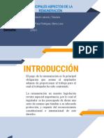 PRINCIPALES ASPECTOS DE LA REMUNERACIÓN