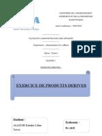 ALLECHI KAUDJIS LILIAN TREVIS (EXERCICE DE PRODUITS DERIVES)