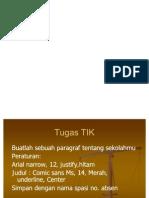 PR TIK & BI