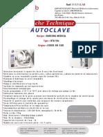 AUTOCLAVE HTA50