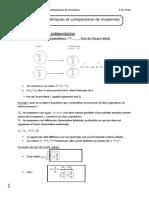 Test paramétriques et comparaison de moyennes