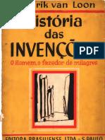 História das Invenções, o Homem, o Fazedor de Milagres by Hendrik Willem Van Loon (z-lib.org)