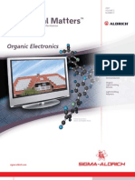 Organic molecules in electronics