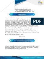 Plantilla-Presentación de curso Auditoria