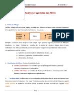 Chapitre2_Analyse et synthèse des filtres analogiques