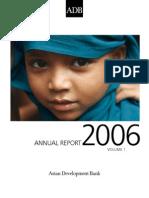 ADB Annual Report 2006