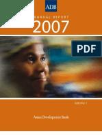 ADB Annual Report 2007