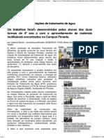 Alunos Criam Miniestações de Tratamento de Água — Ifal Instituto Federal de Alagoas