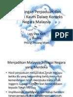 Kepentingan Perpaduan dan Integrasi Kaum Dalam Konteks Negara