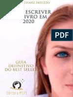 Ebook Como escrever seu livro em 2020 -24-11 - Thaise Patuzzo2020