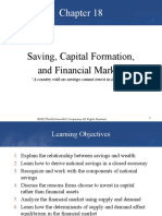 Chapter 18 - Saving, Capital Formation, And Financial Markets(1)