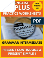 Grammar Present Continuous and Present Simple 1