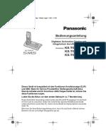 Panasonic Kx Tg9140exs
