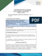 Guia de Actividades y Rúbrica de Evaluación - Fase 4 - Discusión