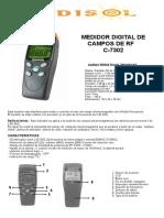 Medidor de Antenas Telefonia