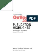 Asian Development Outlook 2002 Highlights