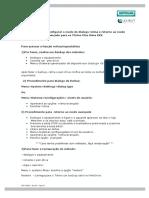 Titrinos - Orientações para níveis de usuário rotina e avançado