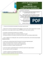 Lista_ REO 5 - Compostos Orgânicos