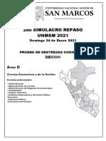 ÁREA D - SIMULACRO SAN MARCOS 24 ENERO