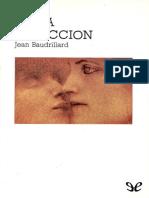 De la seduccion - Jean Baudrillard
