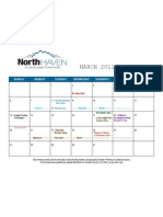 Calendar of Events for North Haven Communities - March 2011