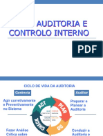 0622 - Auditoria e controlo interno