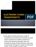 EFT,ECS,CORE BANKING SOLUTIONS