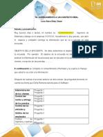 Formatos. ejemplo- entrevista- observación