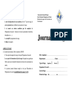 Journal Stage Francais