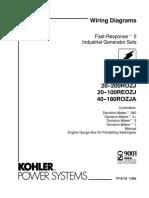 KOHLER Generator Wiring Diagrahm